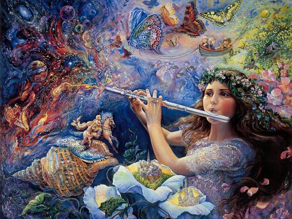 Волшебные звуки флейты